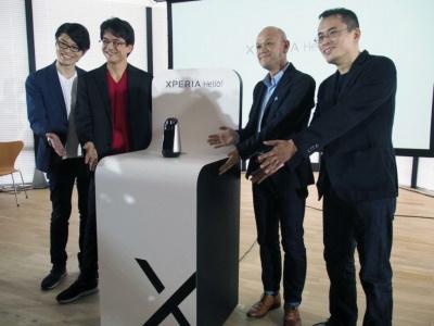 「Xperia スマートプロダクト」の第3弾となる「Xperia Hello!」は、10月17日に実施された、記者向けのXperia Hello!体験会で初披露された