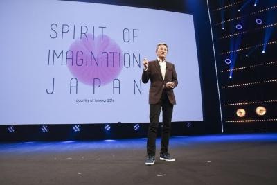 昨年のMIPCOMの基調講演に登壇したソニーの平井一夫社長兼CEO