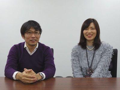 カプコンCS第一開発統括第一開発部プロデューサーの平林良章氏と同部第三ゲーム開発室室長の原美和氏