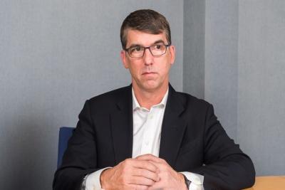 デルで全製品のデザインにかかわっているデザイン部門の責任者、エドワード・ボイド副社長。ナイキやソニーでデザインを手掛けてきた経歴をもつ