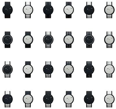 FES Watchで選べるデザインパターン。24種類から選べる