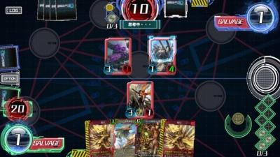 『WAR OF BRAINS』は、スマートフォンで遊べるデジタル版のトレーディングカードゲームだ