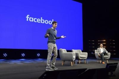 Facebookのグローバルクリエイティブ戦略の責任者、リッキー・バン・ビーン氏は、同社最大の構想であるオリジナル番組制作の戦略について、同社制作ディレクターのダニエル・ダンカー氏と共にMIPCOM2017のキーノートセッションに登壇し、説明を行った (C) Y. COATSALIOU / 360 MEDIAS