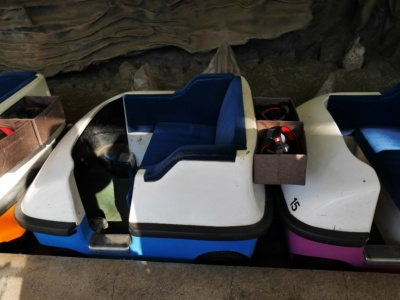 ゴンドラは2人乗り。10台あり、最大で20人同時に体験できる