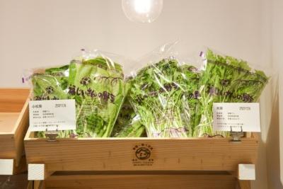VEGEO VEGECO根津で人気なのは、宮崎県綾町の福重さんが生産する「福じいさんの野菜」