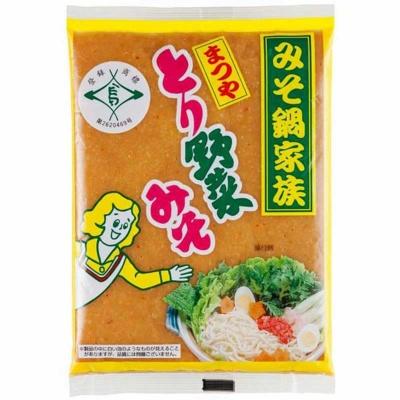 まつやの「とり野菜みそ(200g)」(税別290円)