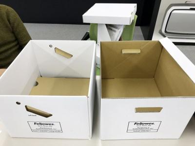 左は701、右は703。持ち手や内側の補強部分が異なる