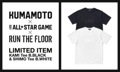 B.LEAGUE ALL-STAR GAME 2018大会で、オフィシャル・カルチャーブランド「RUN THE FLOOR」から発売された限定Tシャツ