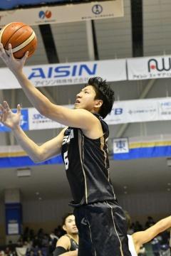「B.LEAGUEモテ男 No.1決定戦!!」で1位に選ばれた比江島慎選手。シーホース三河所属。普段の人柄とプレーのギャップに魅せられる比江島ファンが続出しているという