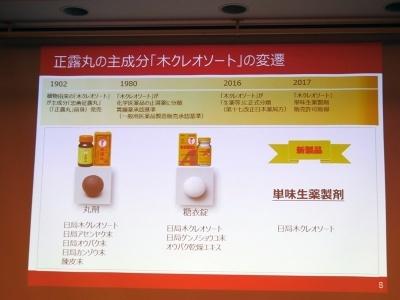 「正露丸クイックC」は丸剤、糖衣錠に続く3タイプ目の製品となる
