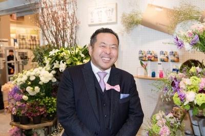 日比谷花壇の宮嶋浩彰社長