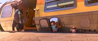 動物の体格の違いをそのまま描く<br>(c)2016 Disney. All Rights Reserved.