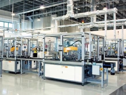 ダイソンは基幹部品であるモーターをシンガポールの自社工場で生産