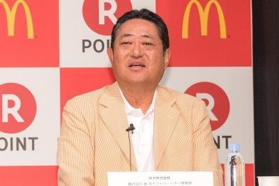 楽天 ポイントパートナー事業部の笠原和彦ジェネラルマネージャー