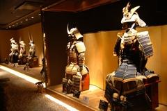 「SAMURAI MUSEUM」の展示物