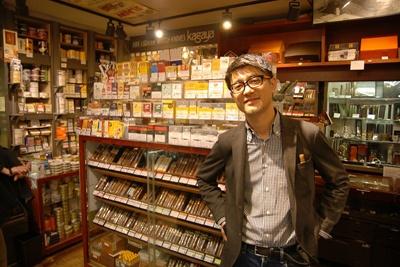 Kagaya 新宿店の中西猛店長