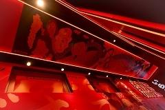 みうらじゅん氏が「週プレ酒場の守り神」をコンセプトに描き下ろした天井壁画