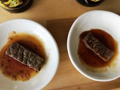 リニューアル後の商品は肉へのからみがよく、味の違いもはっきりと分かった