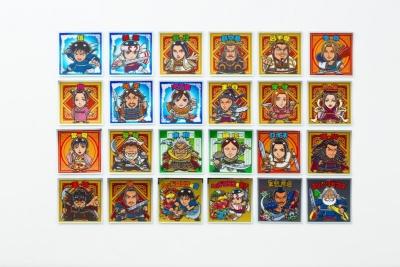 「戦国動乱編」はテレビアニメ第2期のキャラクターがメイン。20種類+シークレット4種類の計24種類