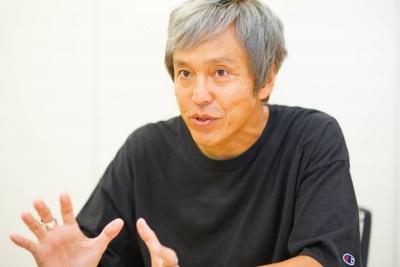 Zeppライブの橋元恵一氏。アイドルグループのプロデュースも手掛ける