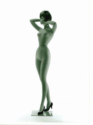 フランスの彫刻家「ダルナ」の名を冠したシリーズの1つで、パリモードの香りが色濃く漂う。1959年制作。ウエストは47㎝。当時の理想の身体美を表現したもので、業界に旋風を起こした(画像提供:七彩)