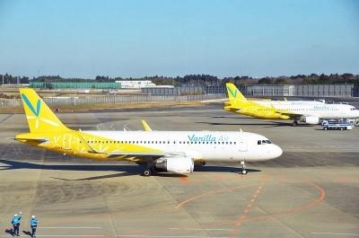 バニラエアは国内線7路線、国際線7路線に就航。ポイントプログラム導入に伴うキャンペーンとして、2017年9月30日までに会員登録をすることで100ポイント(100円分)がもれなくプレゼントされるほか、12月31日までに搭乗すると初便に限って航空券の2倍分のポイントが付与される。また、9月30日までに登録するとバニラエアの全14路線の往復航空券を1組2人にプレゼントするキャンペーンも実施する