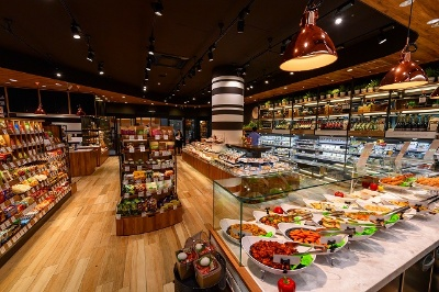 スーパーマーケット「Precce Shibuya DELIMARKET」の営業時間は7〜23時
