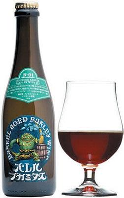 ウイスキーやワインの熟成に使われた木樽で寝かせて造るヤッホーブルーイングの「バレルフカミダス」