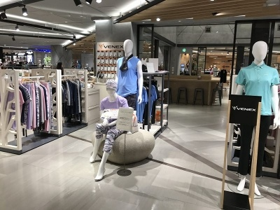新宿髙島屋のウェルビーフィールドフロアにオープンしたベネクスの直営店