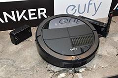 最大200分の連続稼働が可能なロボット掃除機「Eufy RoboVac 20」(10月5日発売、直販価格2万9800円)