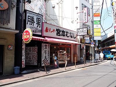 宮本むなしはほとんどの店舗が駅前に出店