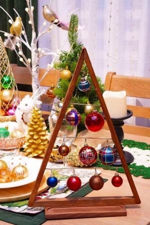 キラキラ雑貨が周囲の空気をクリスマスモードに変えてしまう不思議
