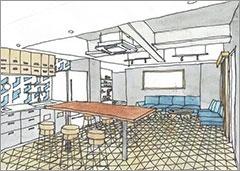 カフェ・カンパニー初のホテルはコミュニティーが集客(画像)