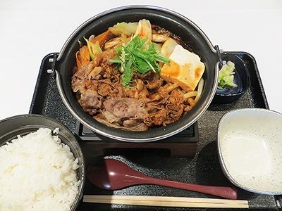 「横浜デミ牛鍋膳」