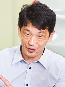 日産自動車 EV・HEV技術開発本部 EV・HEVバッテリー開発部 バッテリーシステム開発グループ 課長 松葉暢男氏