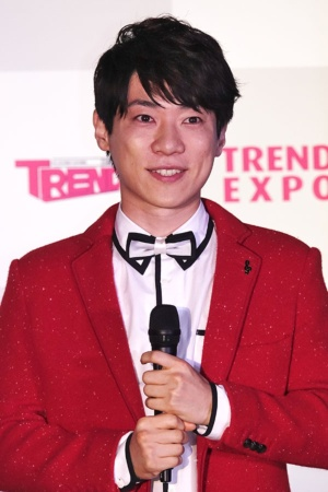 「2018年の顔」として選ばれた俳優の横山だいすけさん