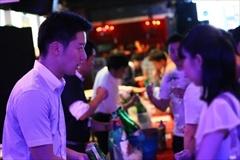 渋谷の有名クラブ「CLUB camelot」で行われた日本酒イベント(スペースマーケット)