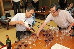 300坪の広大な敷地にある庭園古民家「紫栄庵」(しえいあん)で行われたワイン会イベント(スペースマーケット)