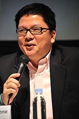 AliphCom Inc. DBA Jawbone General Manager(日本代表)の岩崎顕悟氏