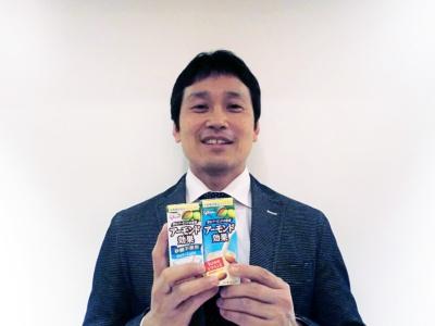 グリコ健康事業・新規事業マーケティング部の矢野達也ブランドマネージャー