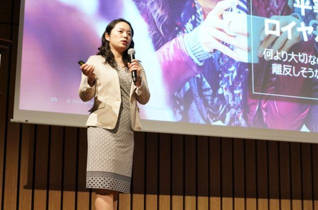 日本では、ロイヤリティプログラムがポイントプログラムと混同されがちな点を指摘した上で、成果の出るロイヤリティ施策を語ったブライアリー・アンド・パートナーズ・ジャパン日本代表の川津のり氏