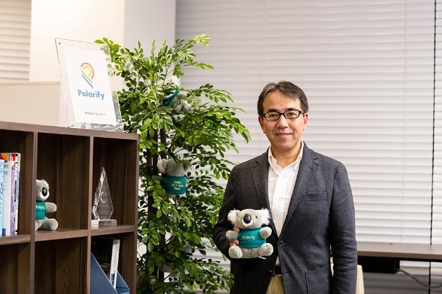和田 友宏氏 株式会社ポラリファイ 代表取締役社長