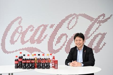 島岡芳和(しまおか・よしかず)氏。日本コカ・コーラ株式会社 マーケティング本部 炭酸&エナジーカテゴリー バイスプレジデント