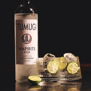 麹を使った酒づくりから生まれた、日本発のカクテルベーススピリッツ「WAPIRITS TUMUGI」