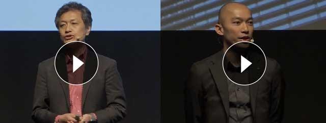 アビームコンサルティング顧問などを務める本間充氏(左)とテンセント国際部門シニアディレクターのベニー・ホウ氏(右)