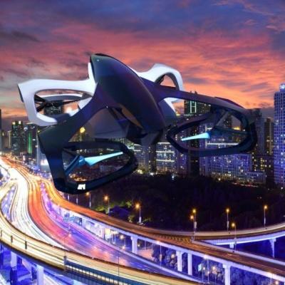 空飛ぶクルマ「SkyDrive」のイメージ