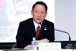 トヨタの豊田章男社長(2018年3月期 決算説明会より)