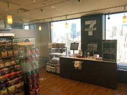 セブン-イレブン・ジャパンが2018年12月、三田国際ビル20階にオープンしたNEC社員限定の省人店舗