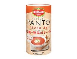 「デルモンテ PANTO ミネストローネ風 11種の野菜ポタージュ」(キッコーマン飲料)