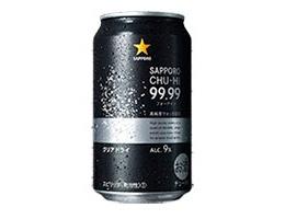 「サッポロ チューハイ99.99<フォーナイン> クリアドライ」(サッポロビール)